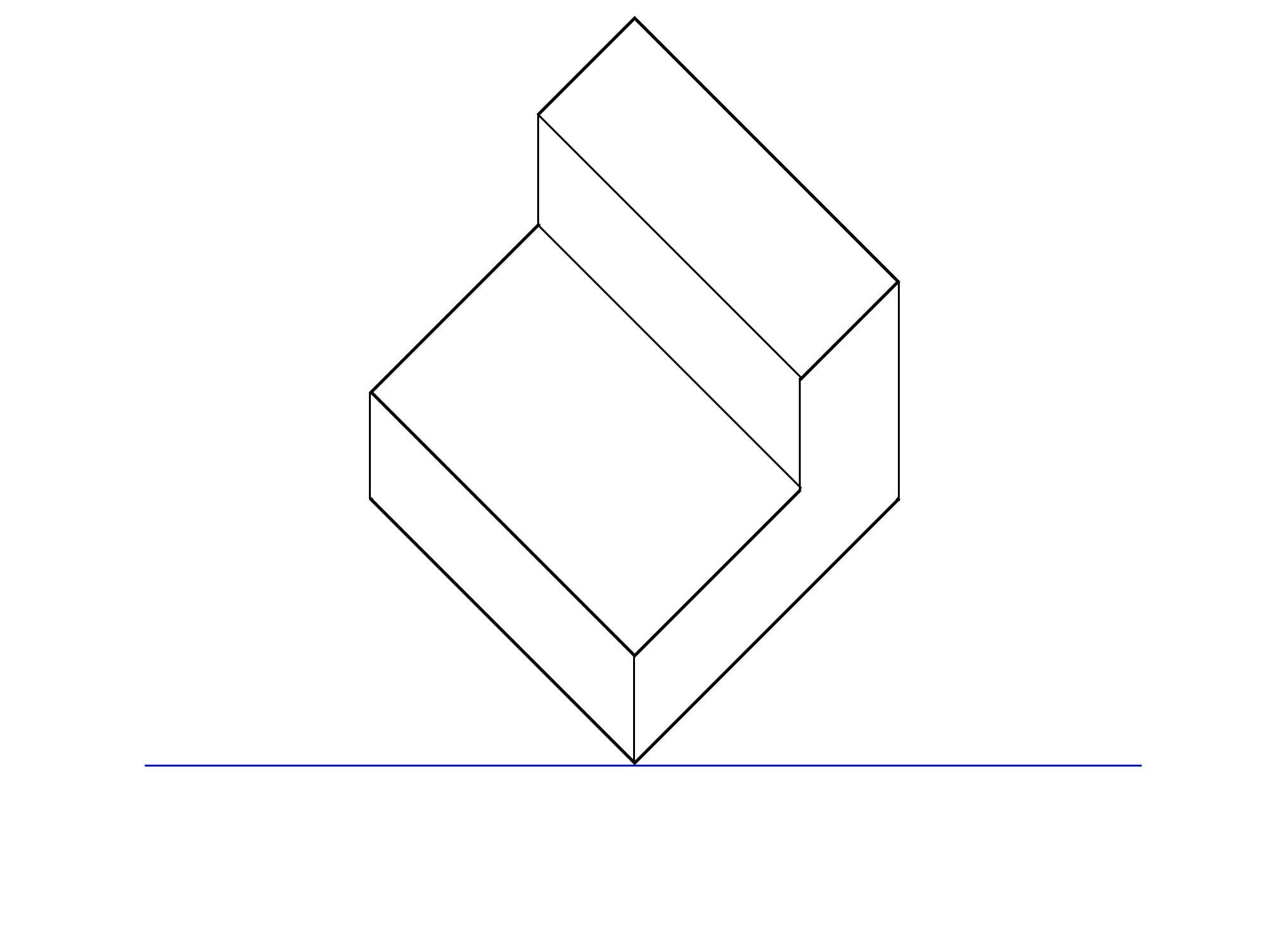 傾斜平面図とは