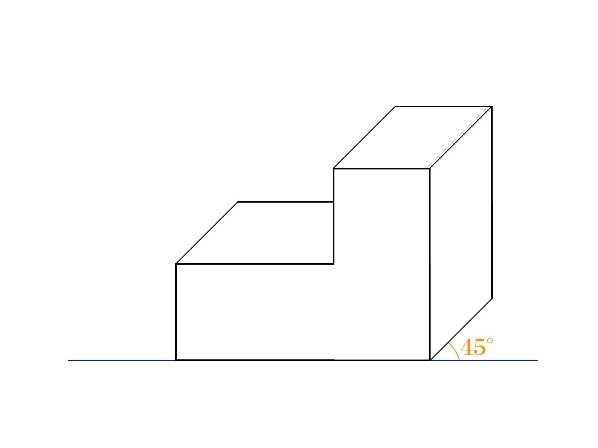 傾斜立面図とは