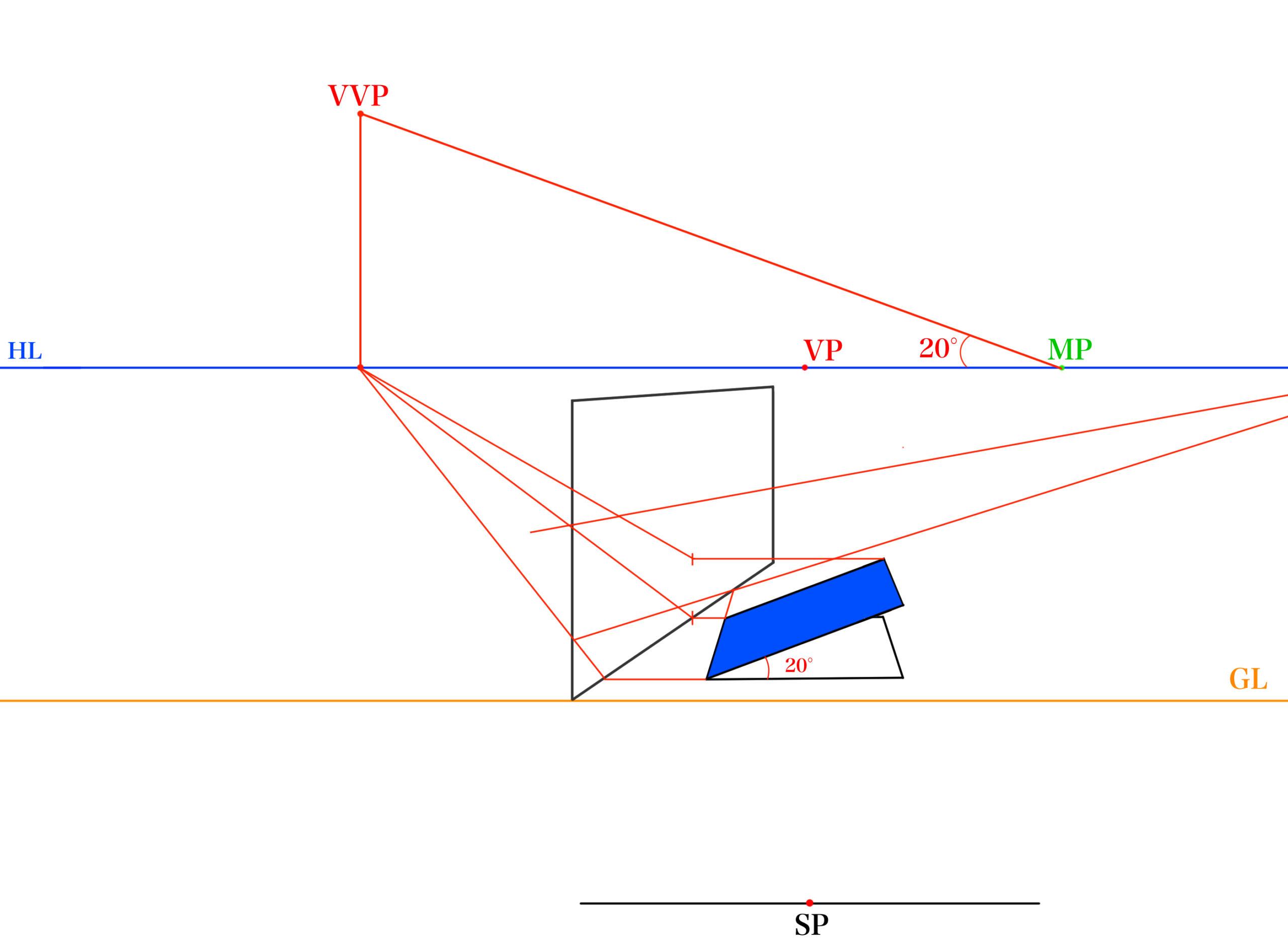 傾斜面の反射を描く⑥_2