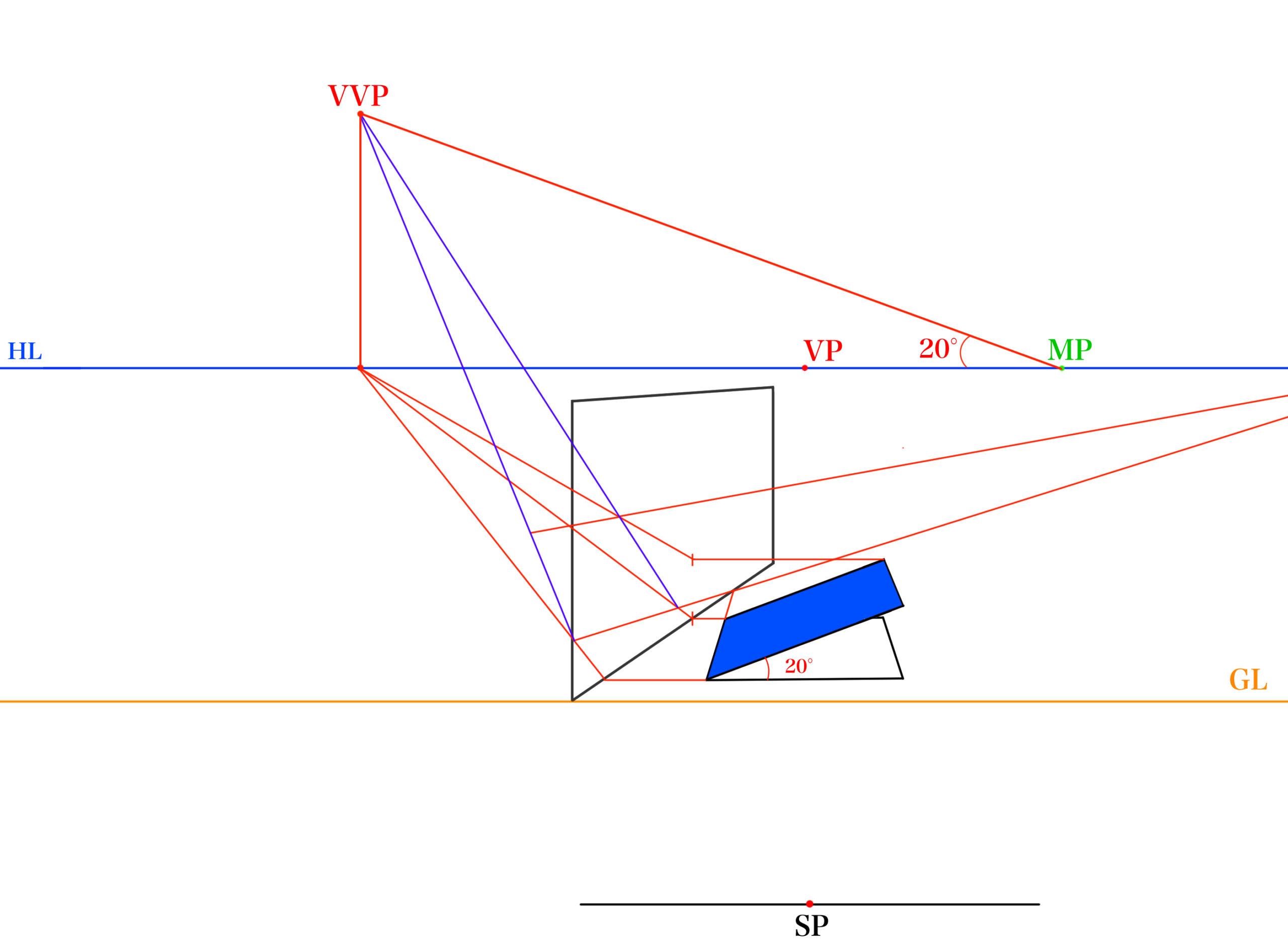 傾斜面の反射を描く⑥_3
