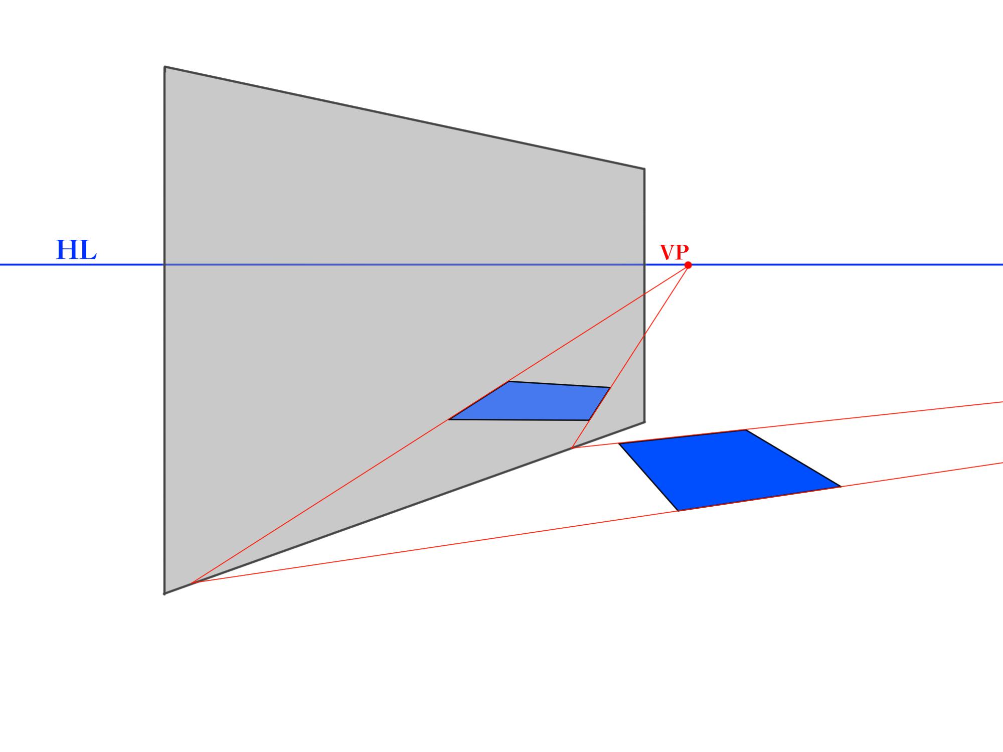 反射が特定の角度のパターン