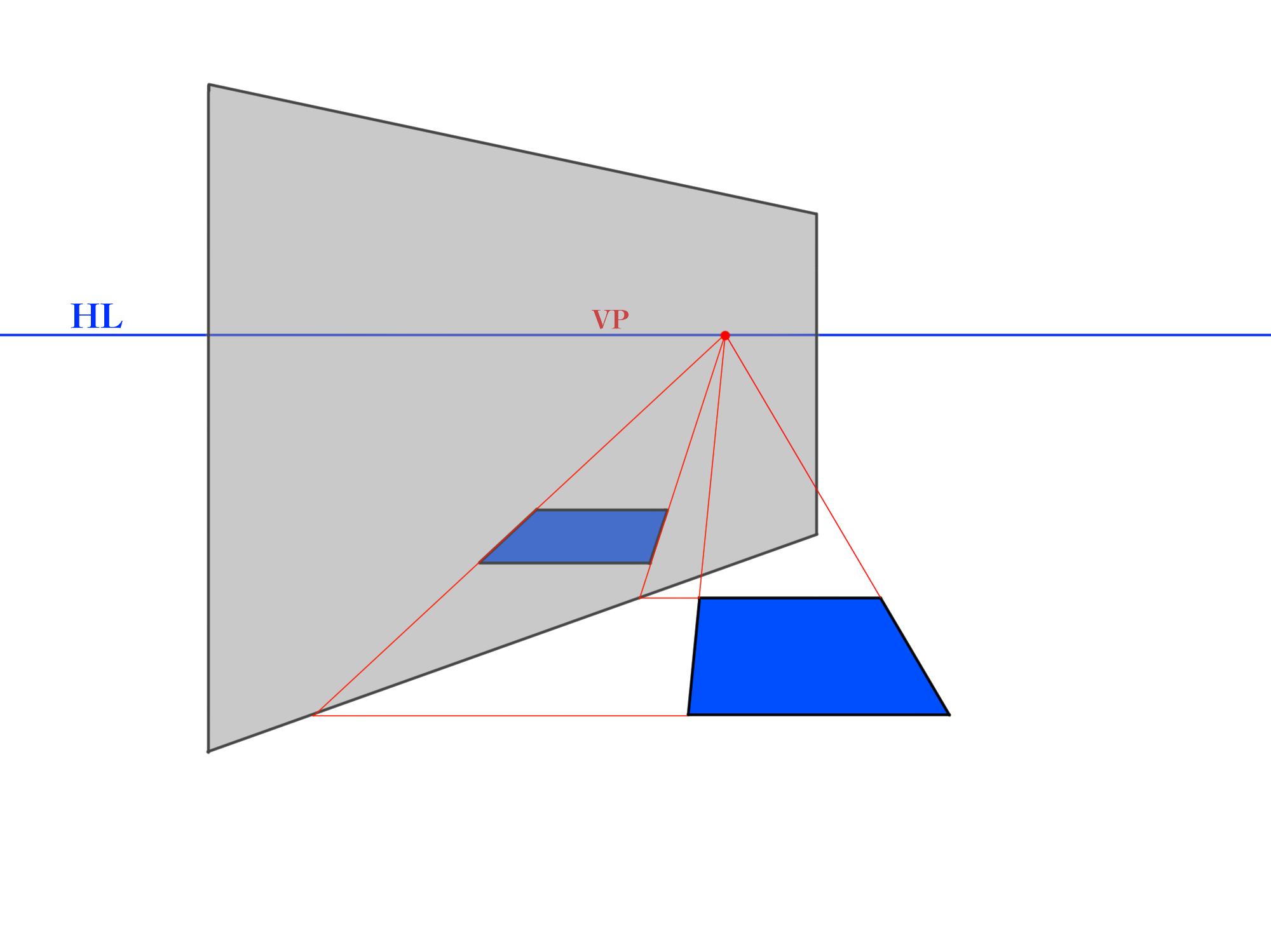 反射面が45°のパターン