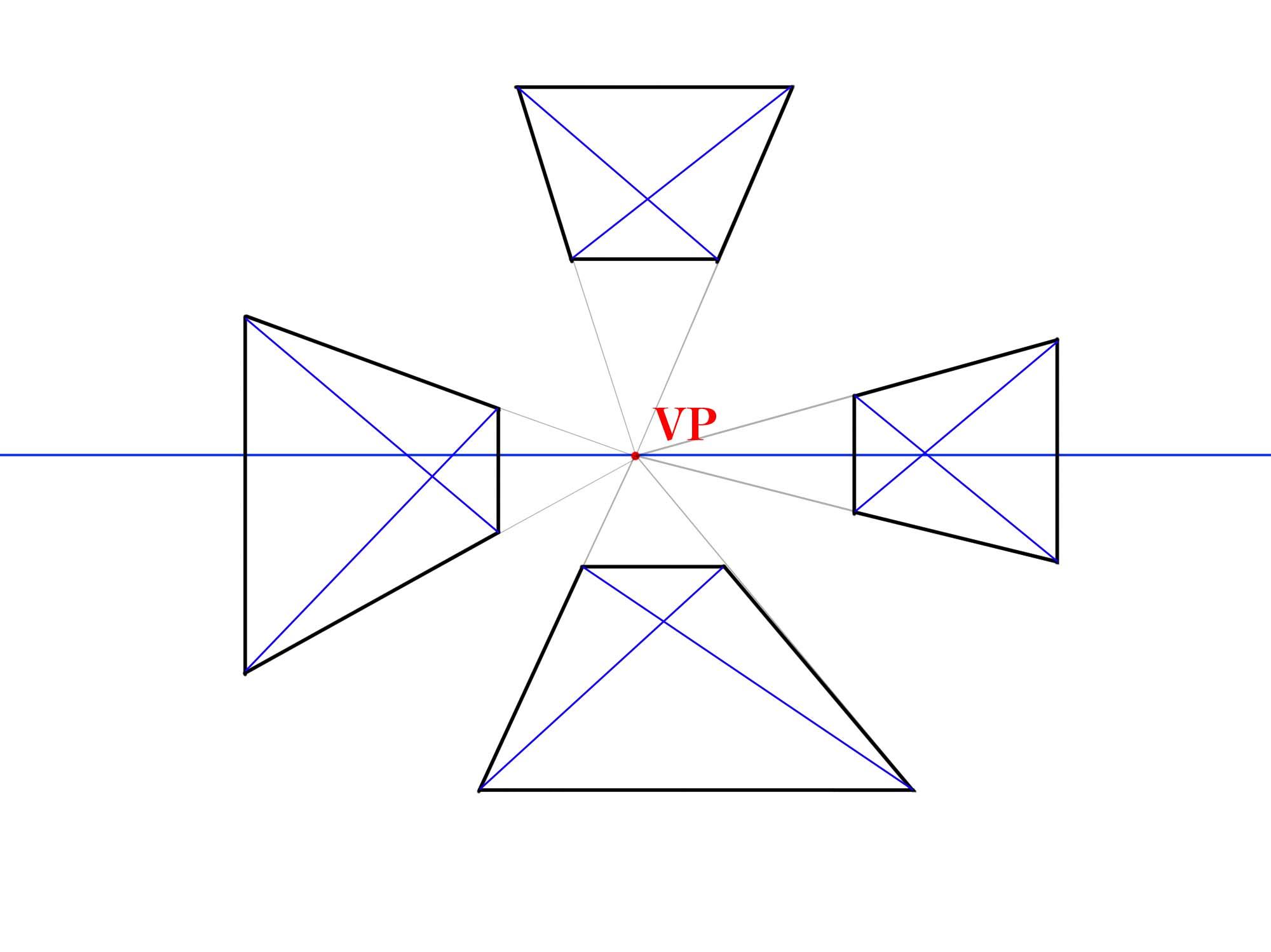対角線で分割①