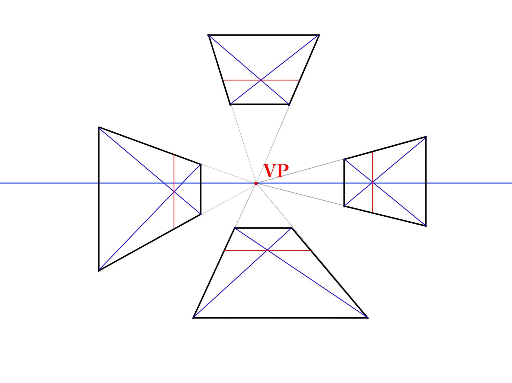 対角線で分割②