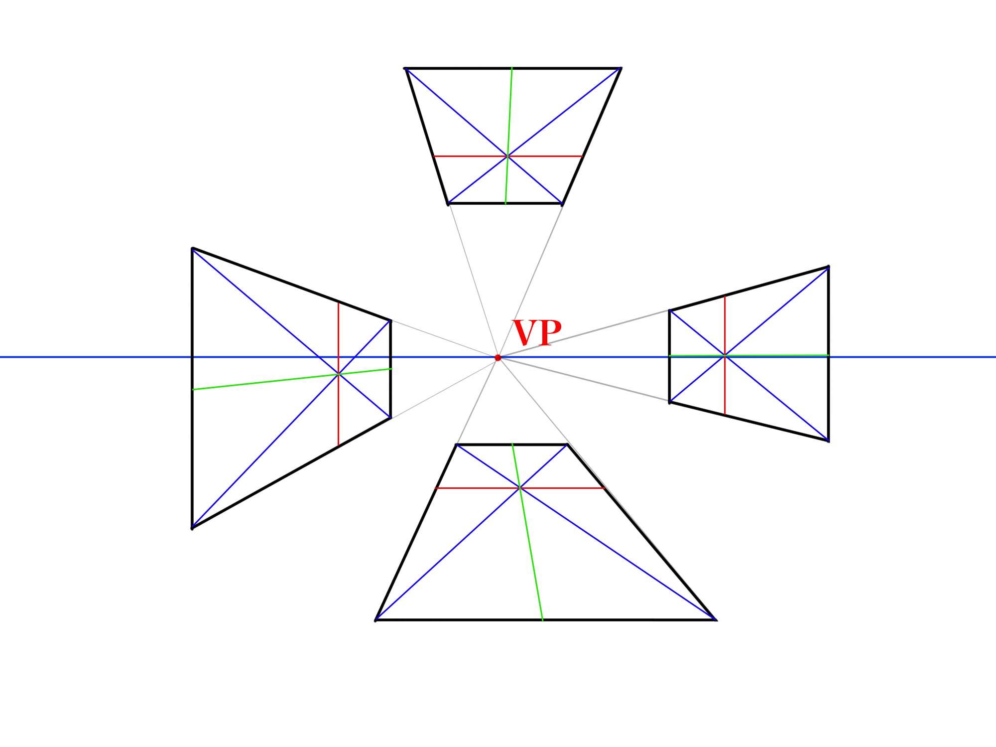 対角線で分割③