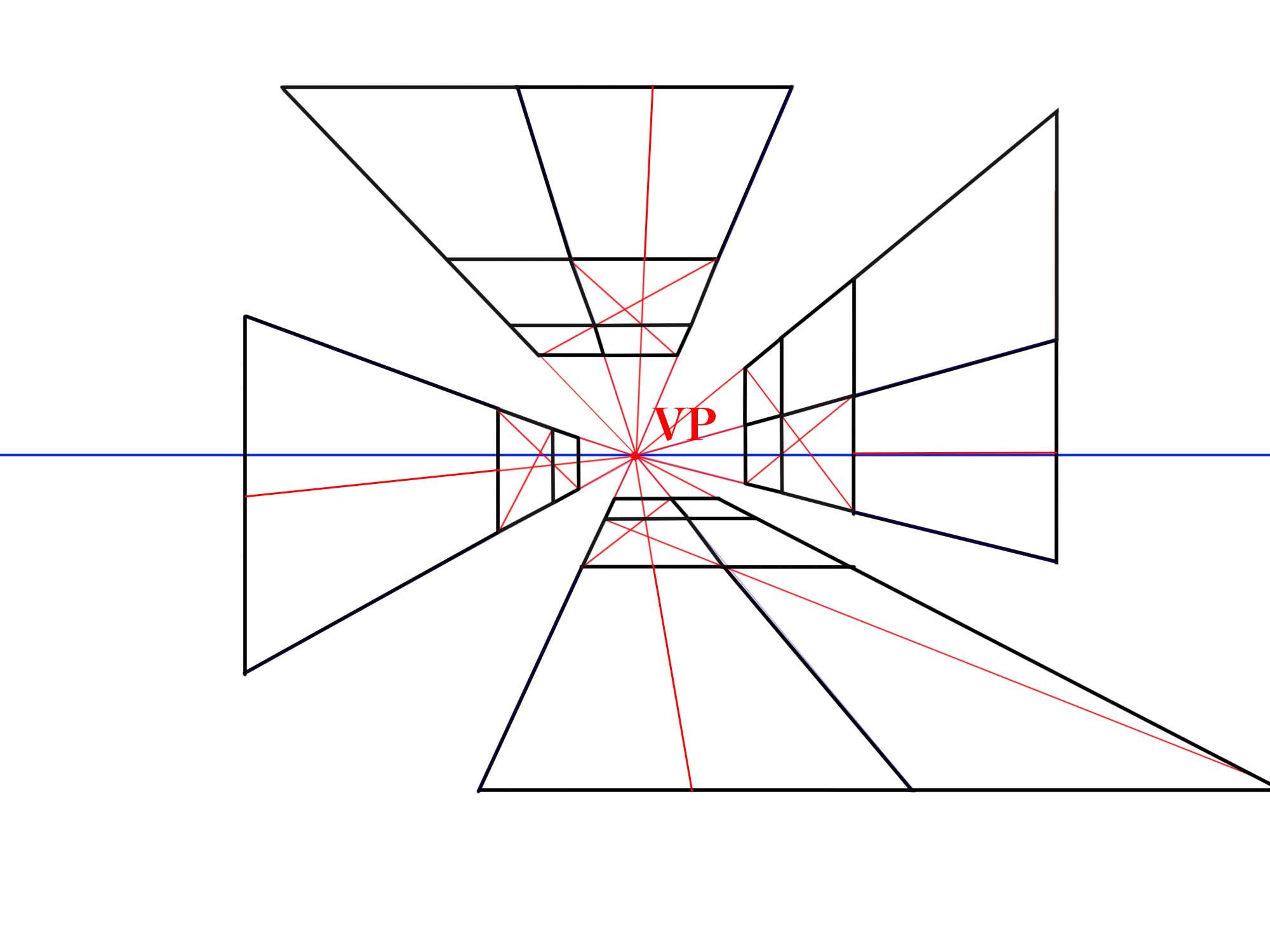 対角線で追加する④