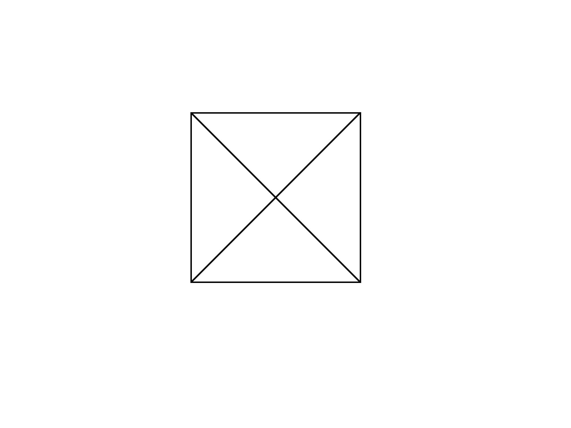 正方形を使って円を描く①