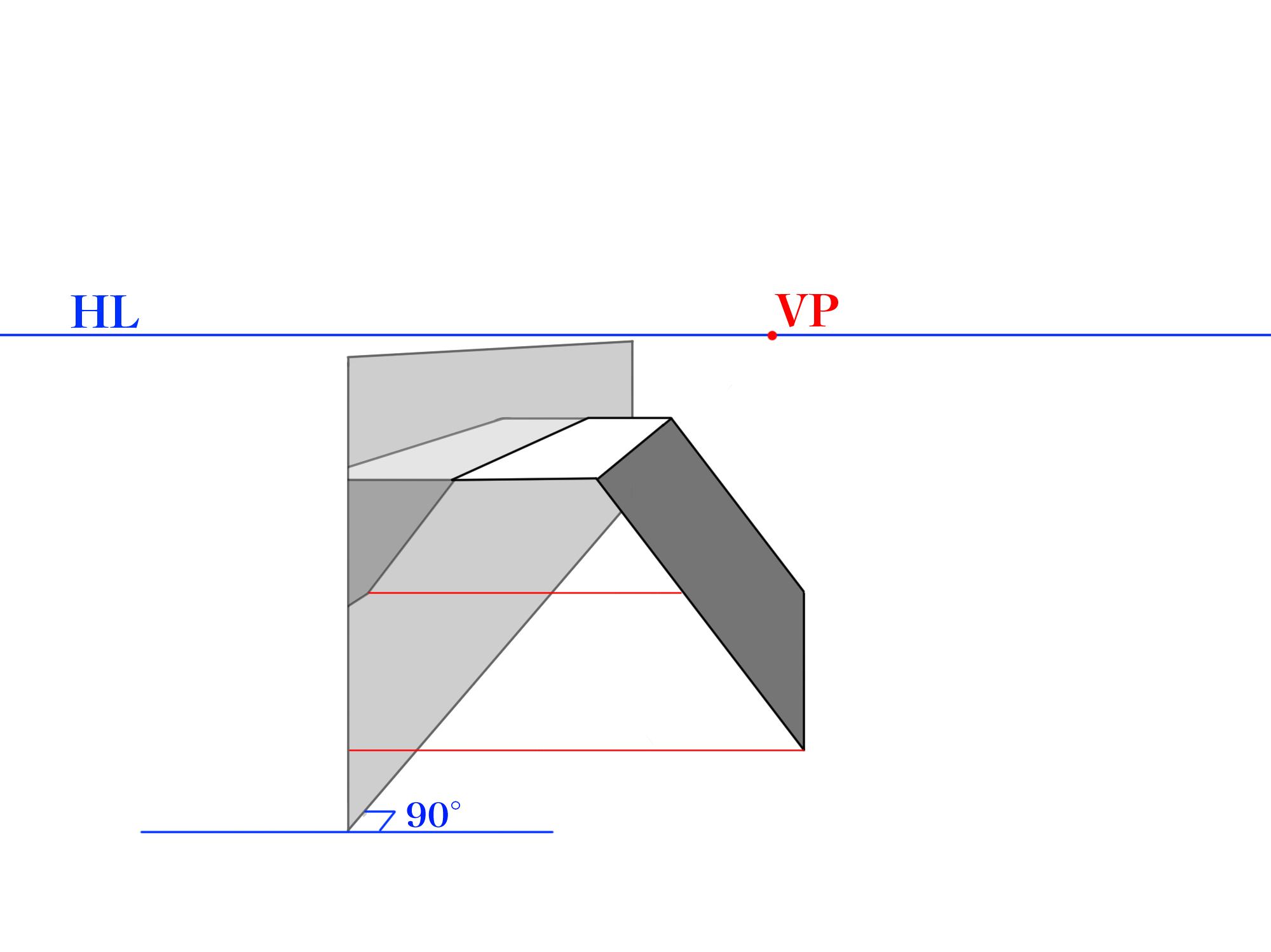 画面に平行な反射④