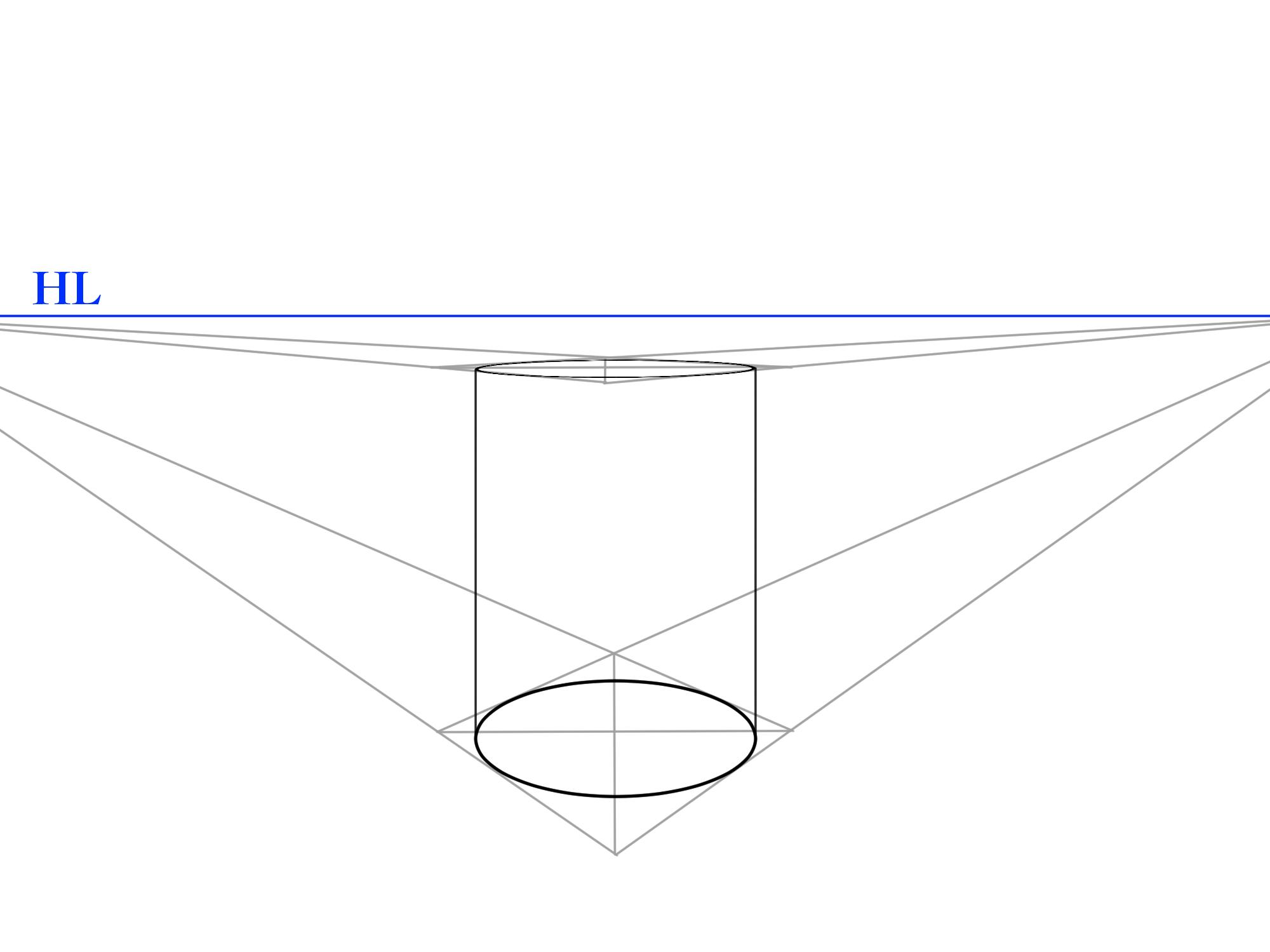 螺旋パースの描き方①