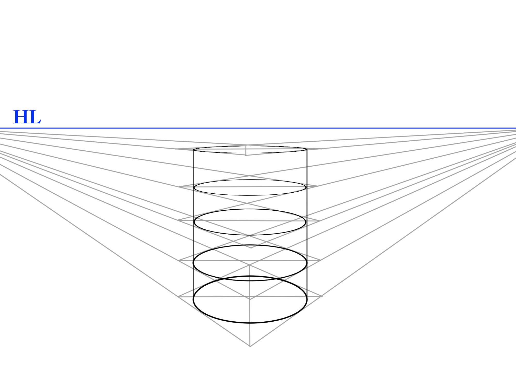螺旋パースの描き方②