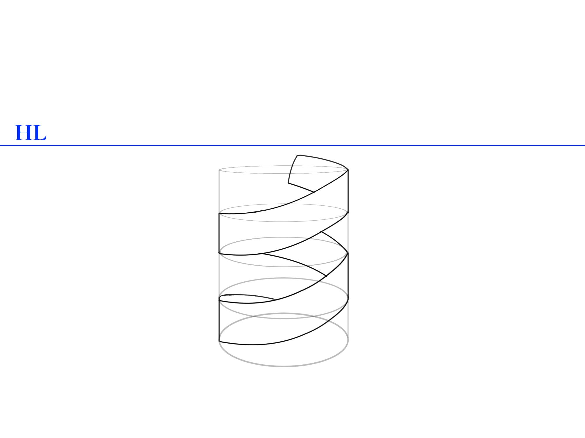 螺旋パースの描き方⑤