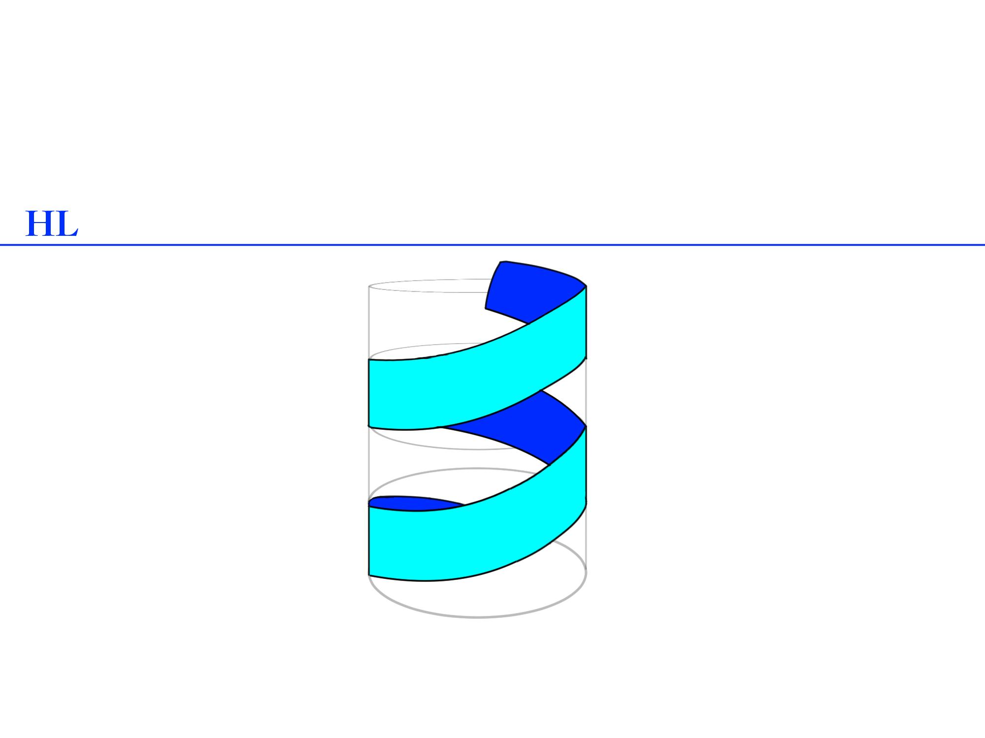 螺旋パースの描き方色付き