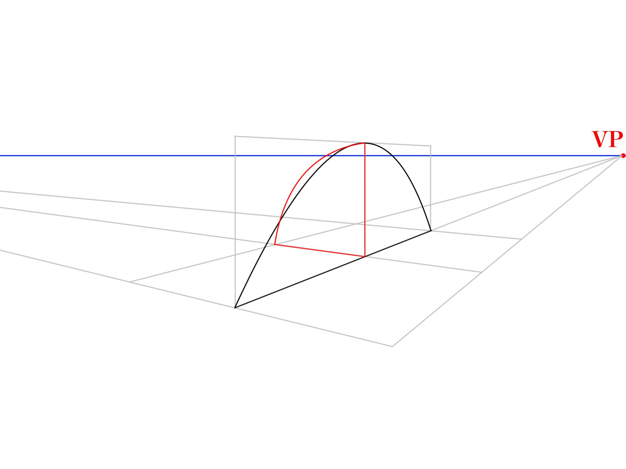 3本軸から曲面を描く②