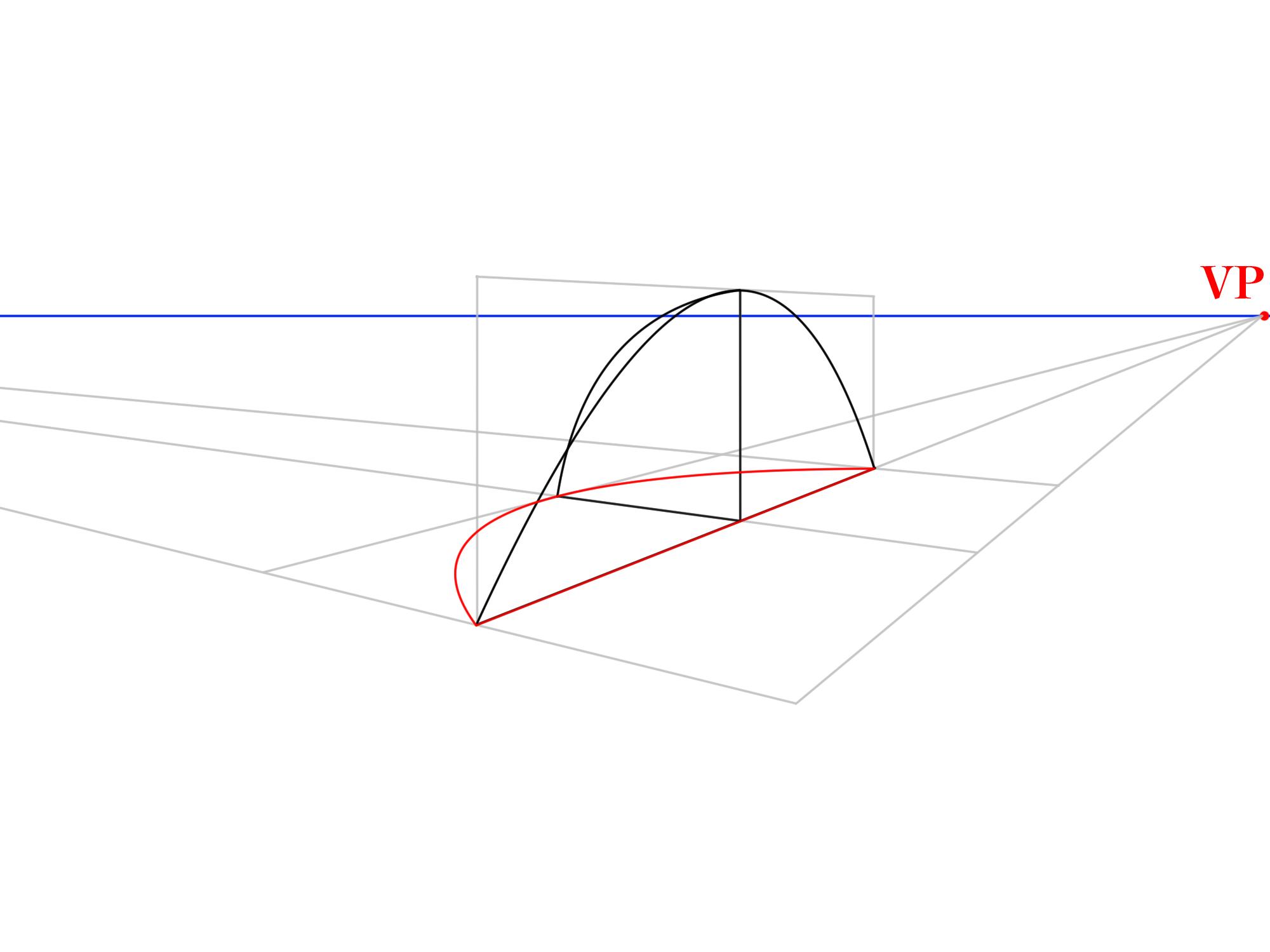 3本軸から曲面を描く③
