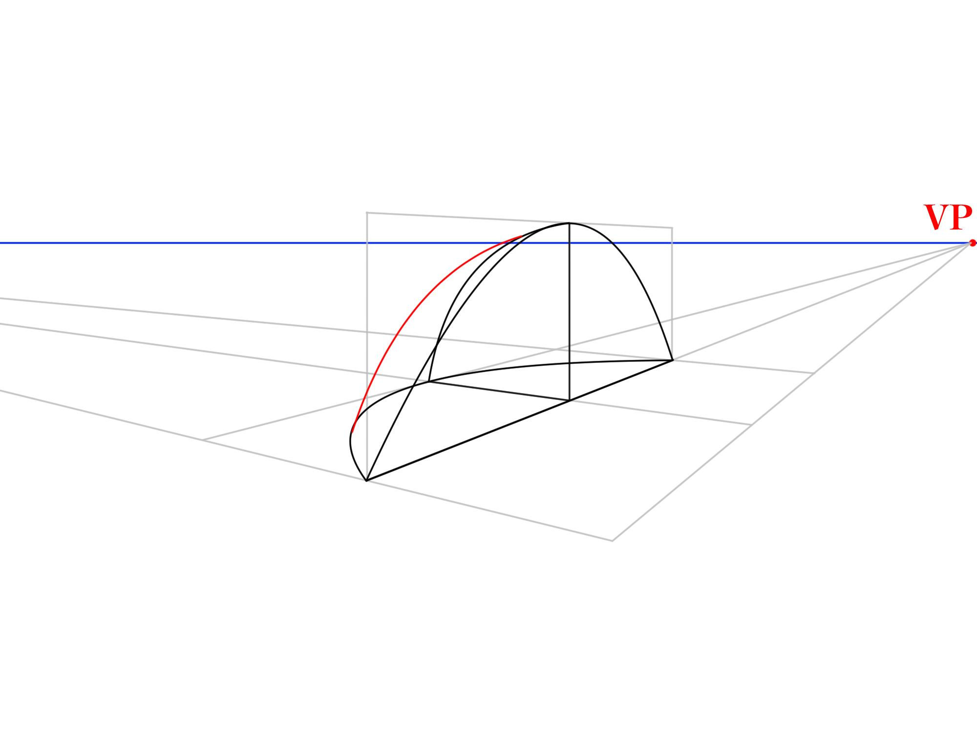 3本軸から曲面を描く④