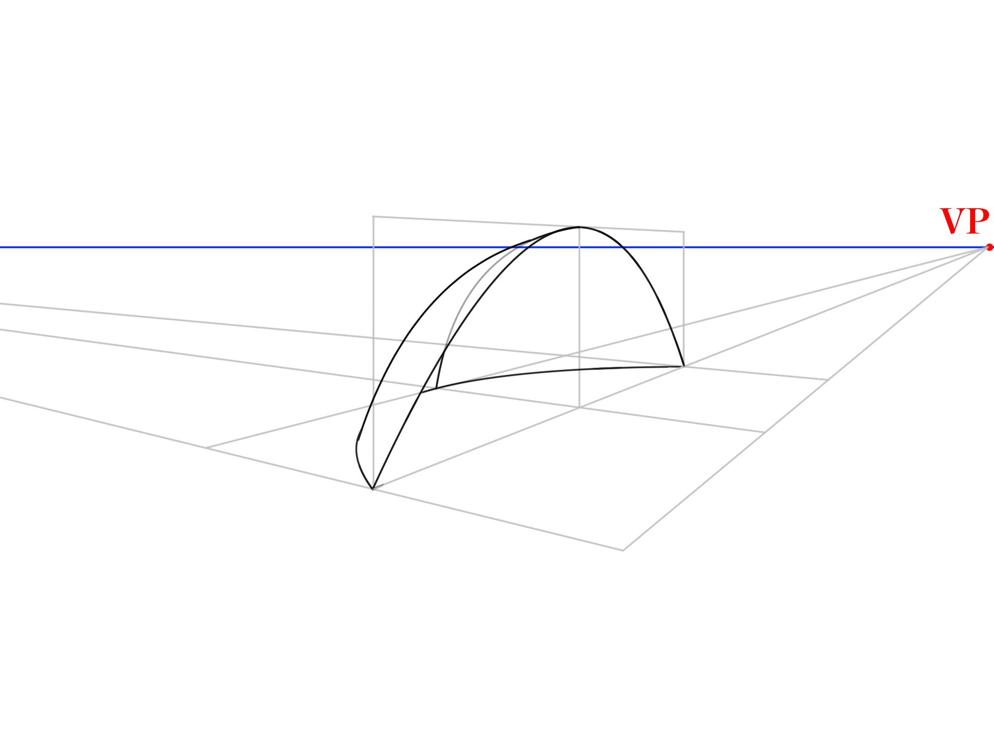 3本軸から曲面を描く⑤