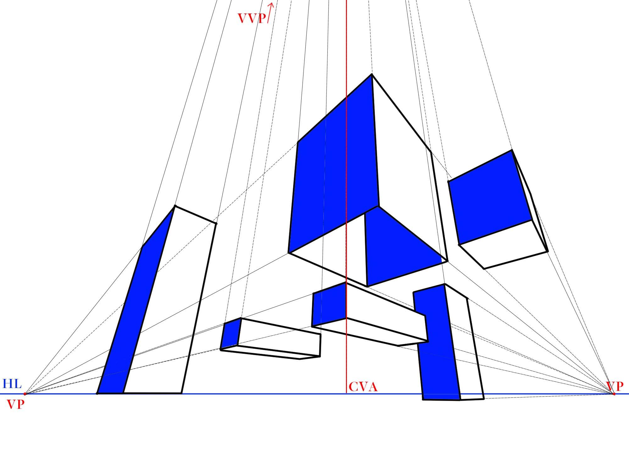 3点透視図特徴①