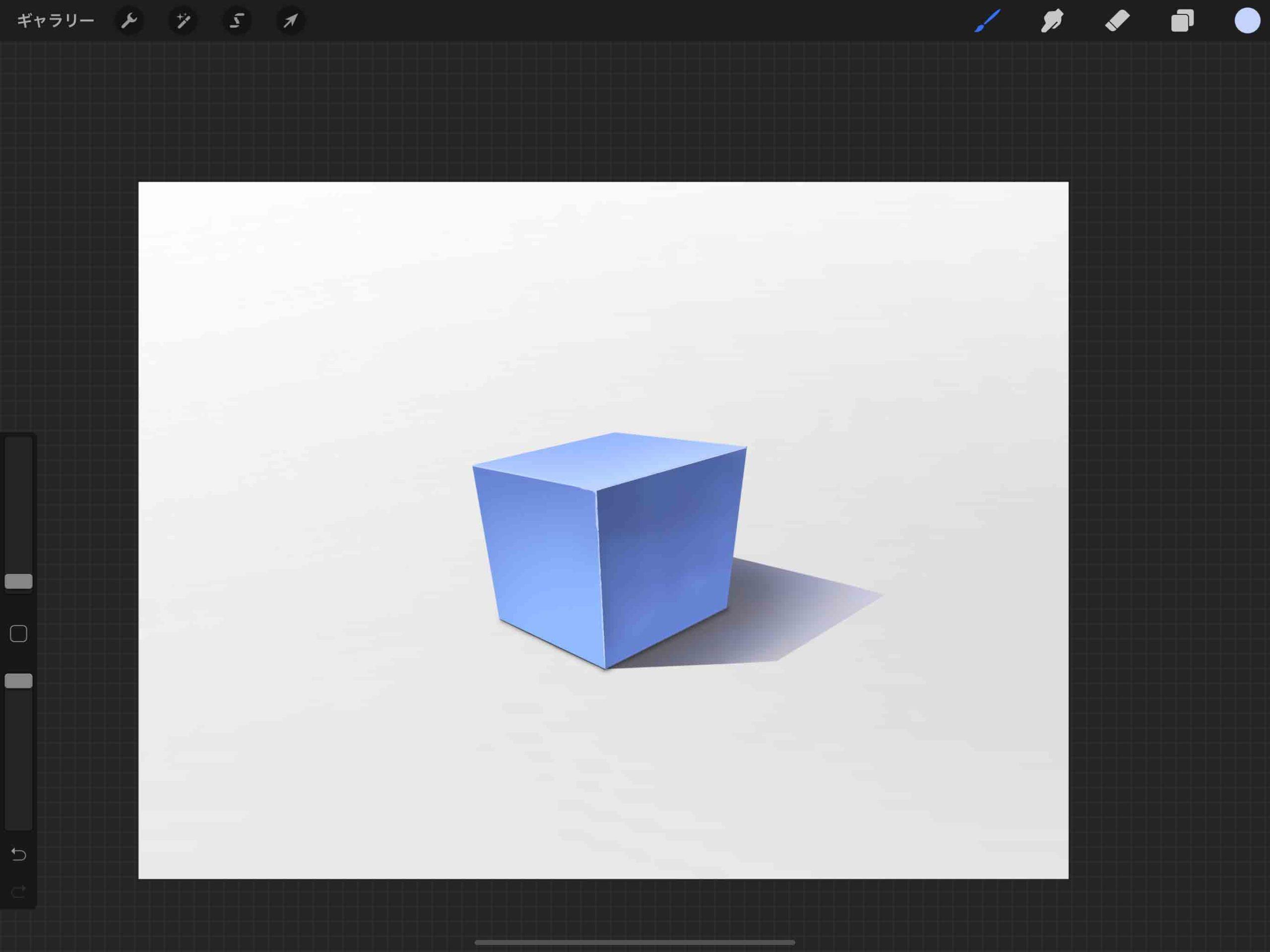 ⑩立方体の完成