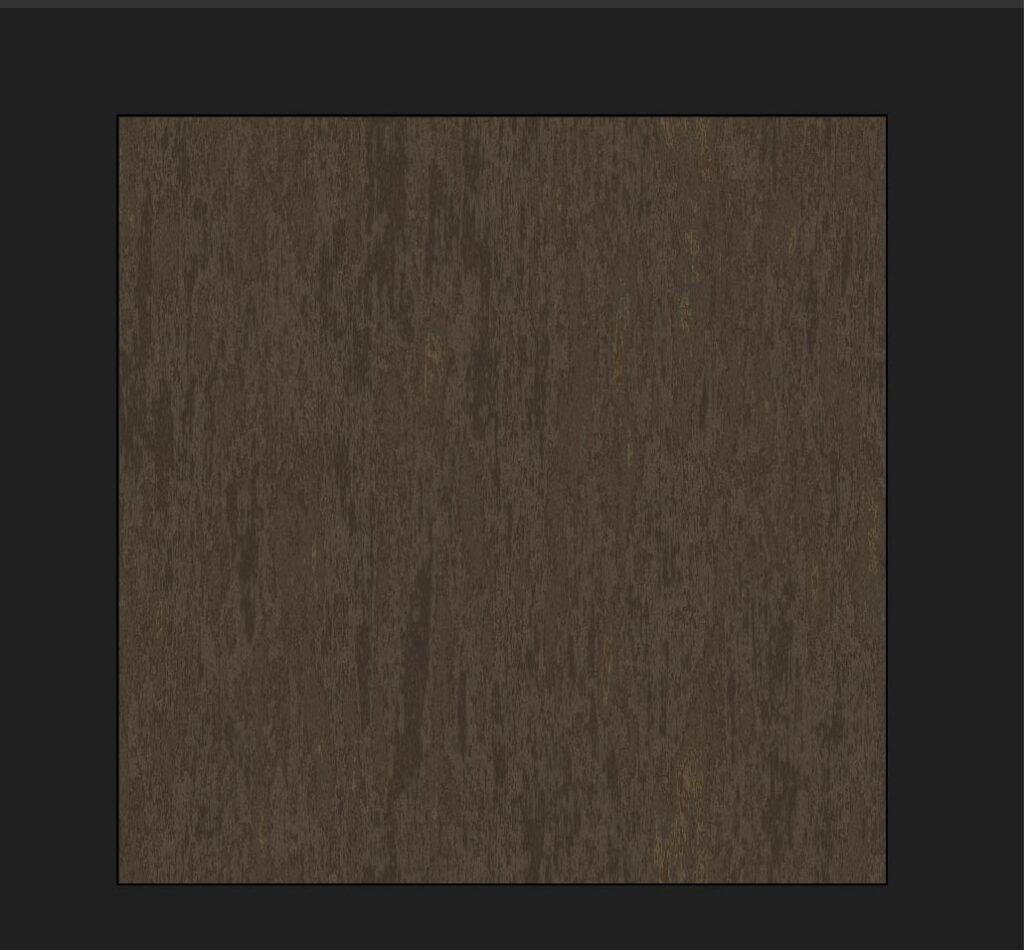 木目カラーの完成
