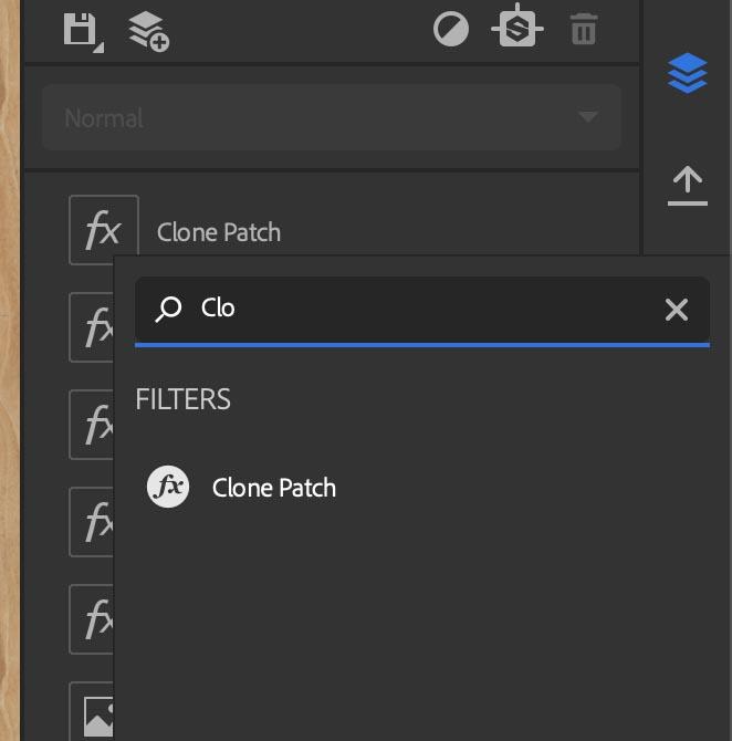 さらにClonePattchを追加