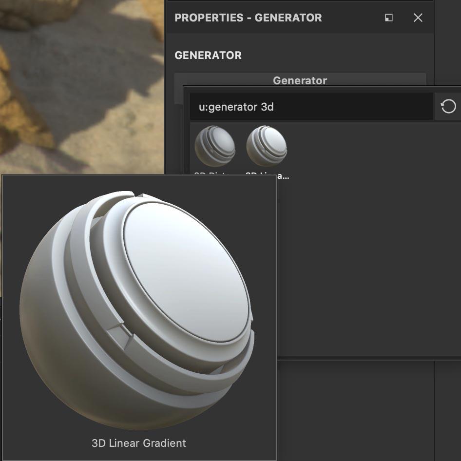 3DLinearGradientを追加