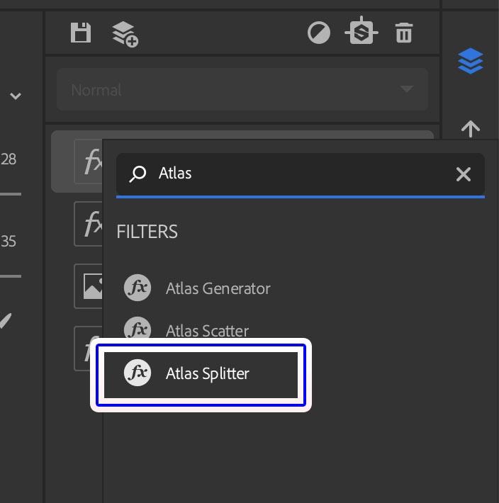AtlasSpllatterを追加
