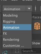 アニメーションモードに