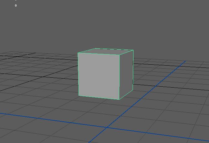 キューブを作成