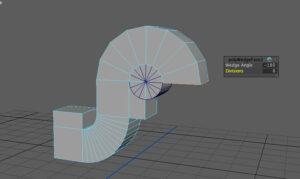 2つ目のシリンダーの軸にそってアングルを調整